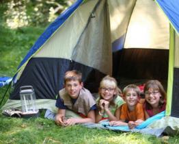 Il camping non è solo un piacere, ma anche un vantaggio