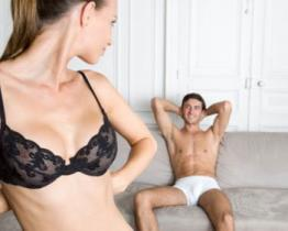 Sorprendere il tuo marito con uno striptease incendiario