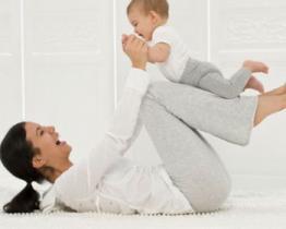 La ginnastica per i neonati